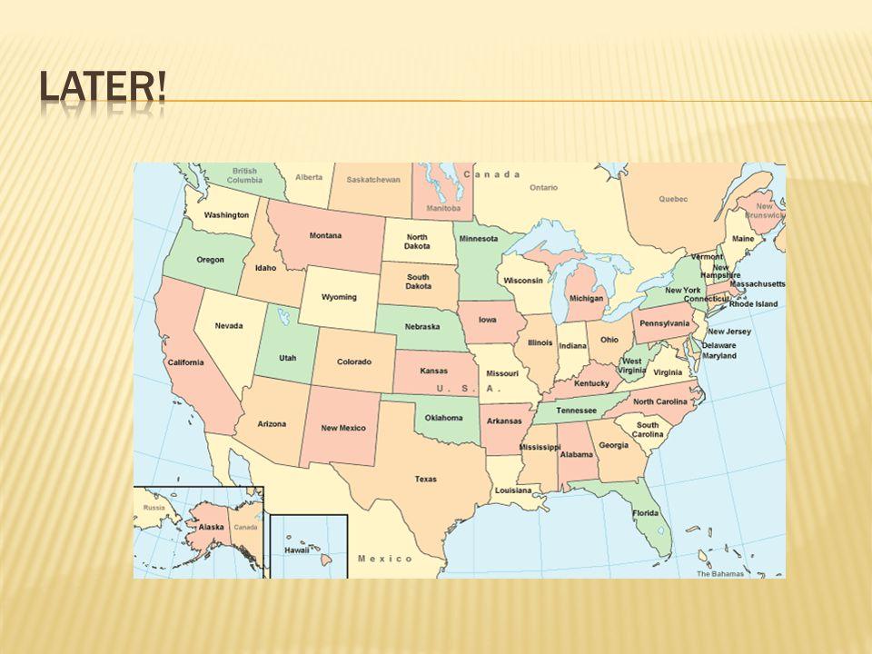  Nieuwe staat bestaat eerst uit soevereine staten (1783) + een nationale vergadering MAAR: werkt niet!