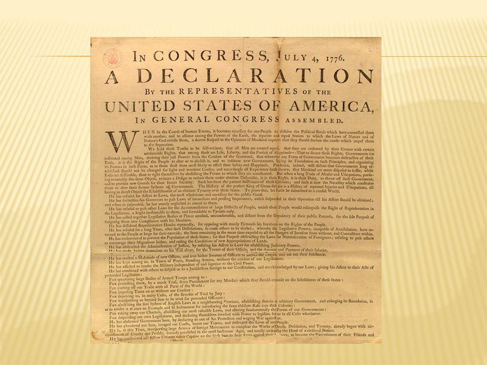  1783: Vrijheid voor 13 opstandige kolonies