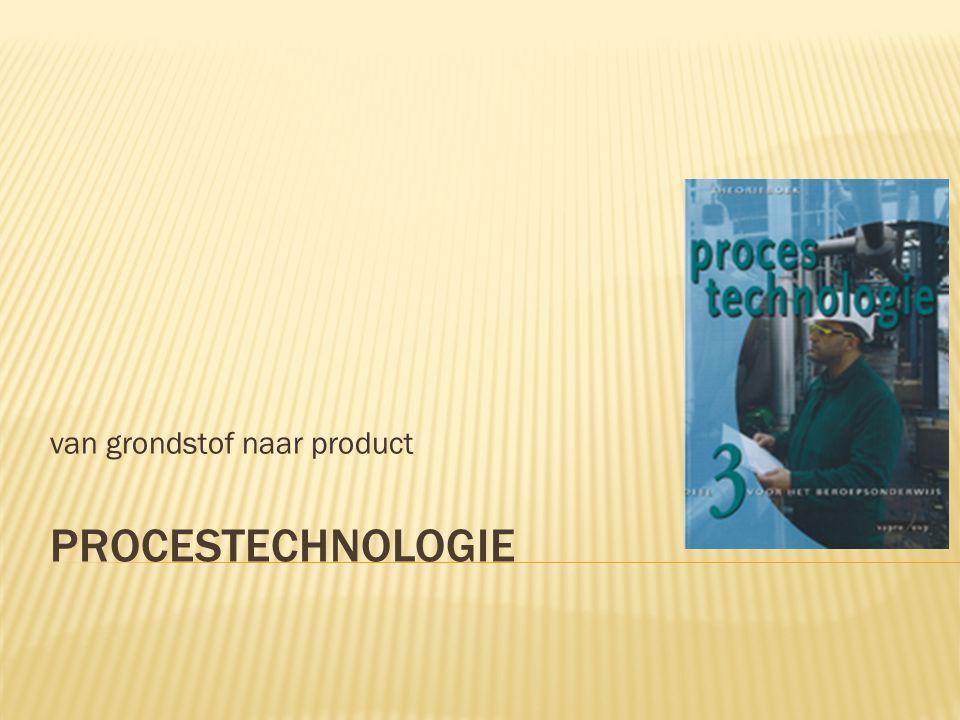 PROCESTECHNOLOGIE van grondstof naar product