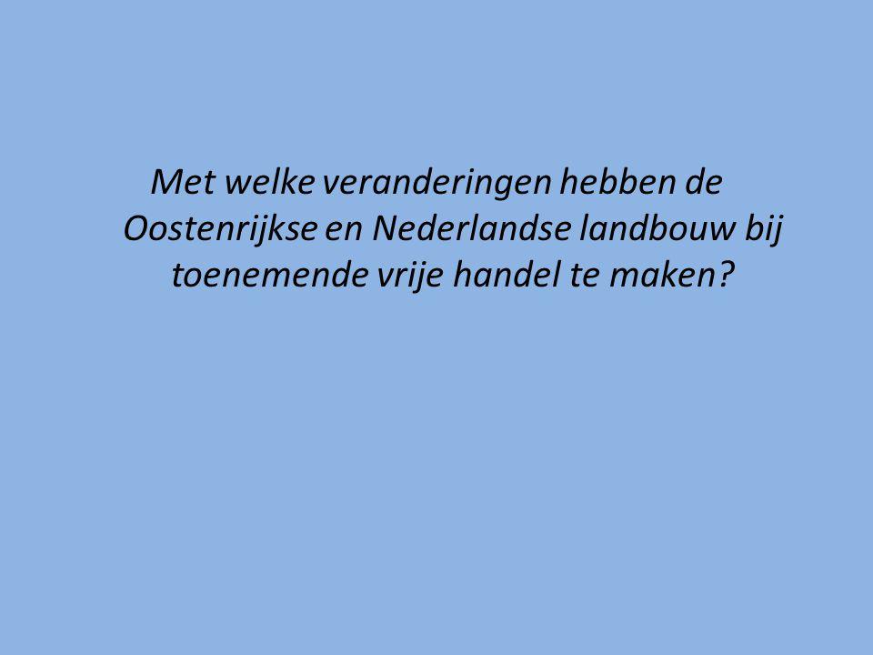 Economische dimensie Bedrijfskosten hangen samen met grondprijzen, loonkosten en grondstofprijzen => kunnen tussen landen verschillen:  Veevoer voor varkenshouderij (overzeese aanvoer is voor Ned.