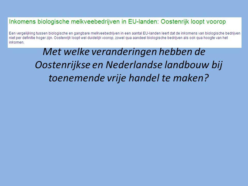 Leefbaarheid in het geding Oostenrijk: grote waarde gehecht aan grondbezit.