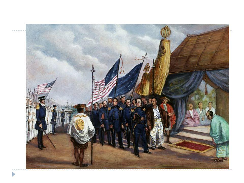  Later: - 1893: bezetting Hawaï - 1898: Bezetten Cuba en Filipijnen (was van Spanje)