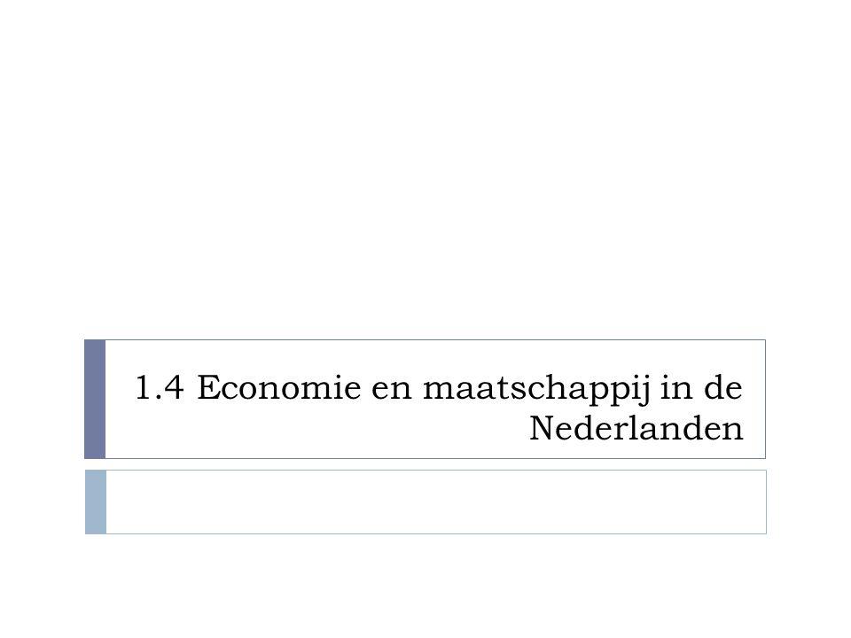 1.4 Economie en maatschappij in de Nederlanden
