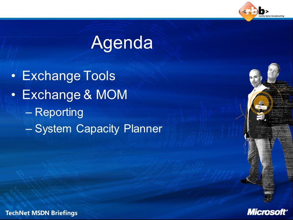 Exchange Tools Exchange Monitor Tools Exchange Analyzer Tools Log bestanden Algemene Exchange hulpmiddelen
