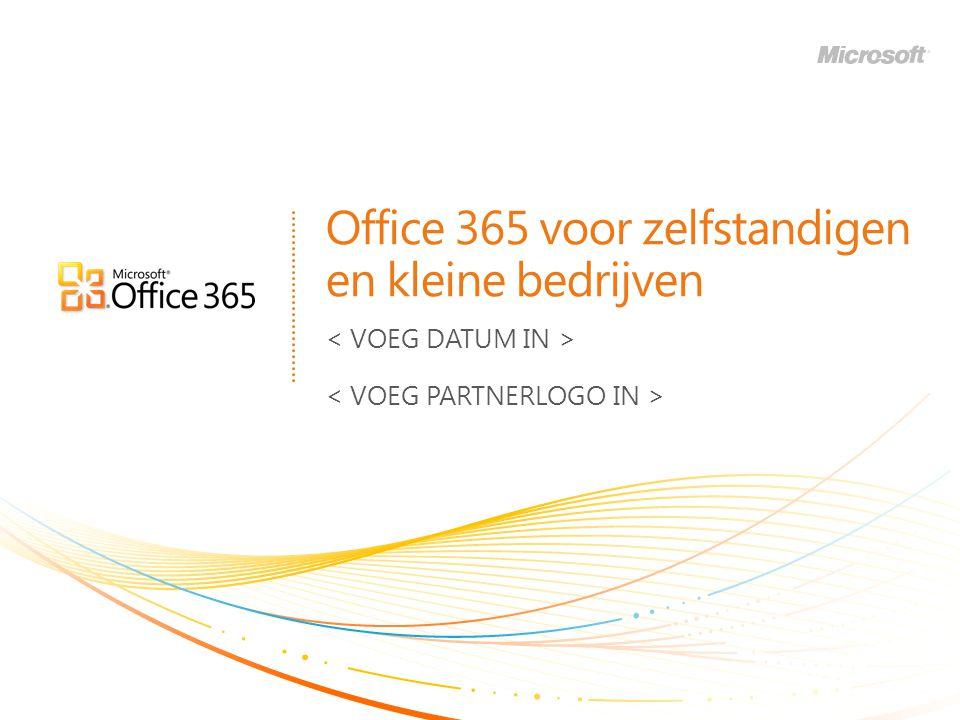 Office 365 voor zelfstandigen en kleine bedrijven