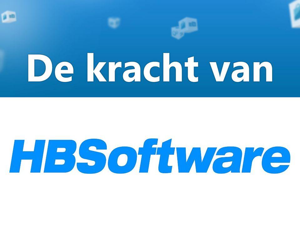 De kracht van HBSoftware Als uw markt verandert, verwachten uw klanten dat u daar snel op reageert.