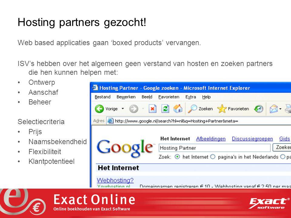 the vision at work Uitgangspunten Volg de standaarden Web browsers Web servers Databases Maximaliseer integratie MS Active Directory MS Office E-mail / Messenger Zorg voor schaalbaarheid Verwerkingscapaciteit Opslagcapaciteit