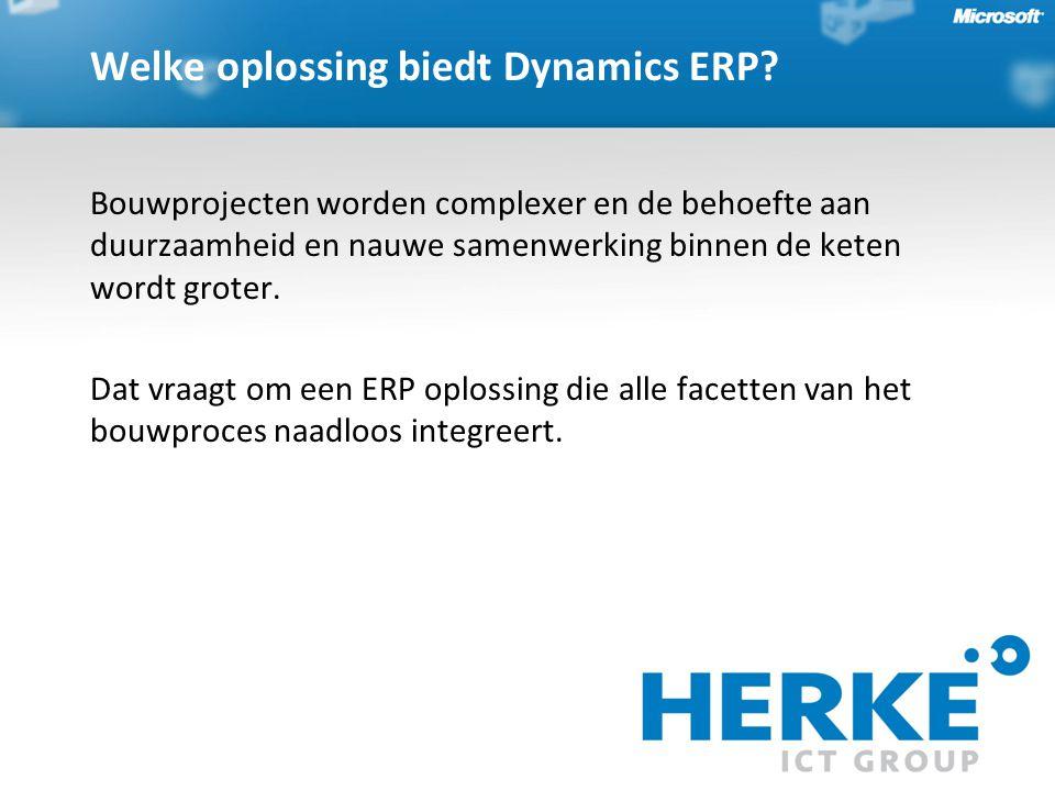 BouwVision ERP biedt ons een beter inzicht in onze kosten en opbrengsten, waardoor de faalkosten worden beperkt.