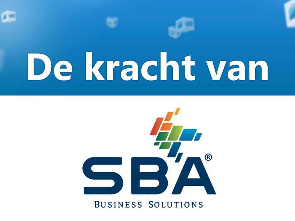 De kracht van SBA Business Solutions Vanuit een oplossingsgerichte gedachte, waarbij de klant altijd centraal staat, koppelen wij innovatieve producten en (branche)kennis aan degelijkheid, flexibiliteit, betrouwbaarheid en continuïteit.