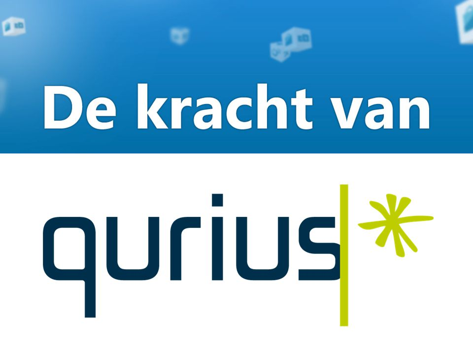 De kracht van Qurius Qurius heeft al ruim 15 jaar ervaring met het implementeren van Microsoft Dynamics ERP software, en als één van de weinigen met ge ï ntegeerde oplossingen waarbij ERP volledig samenwerkt met het CRM systeem, binnen een optimale infrastructuur, al dan niet in een portal op basis van.NET of SharePoint technologie.