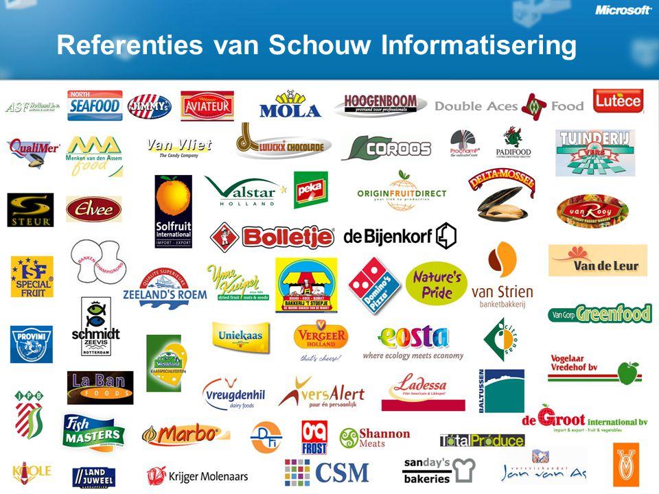 Referenties van Schouw Informatisering