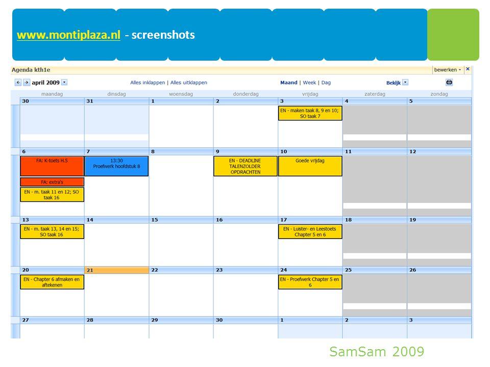 SamSam 2009 15 www.montiplaza.nlwww.montiplaza.nl - screenshots