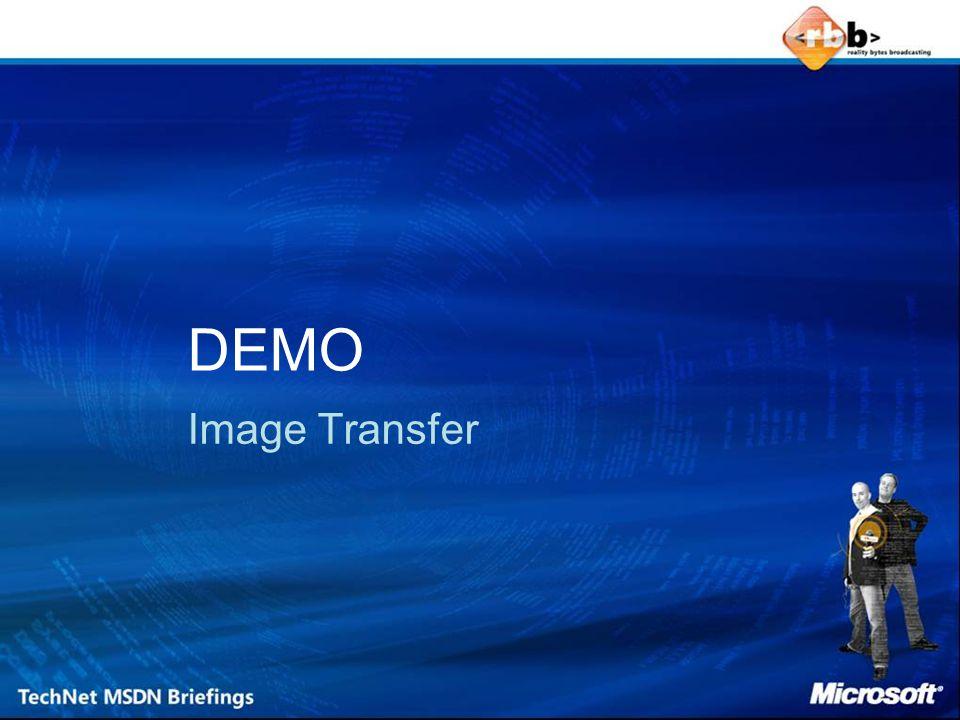 DEMO Image Transfer