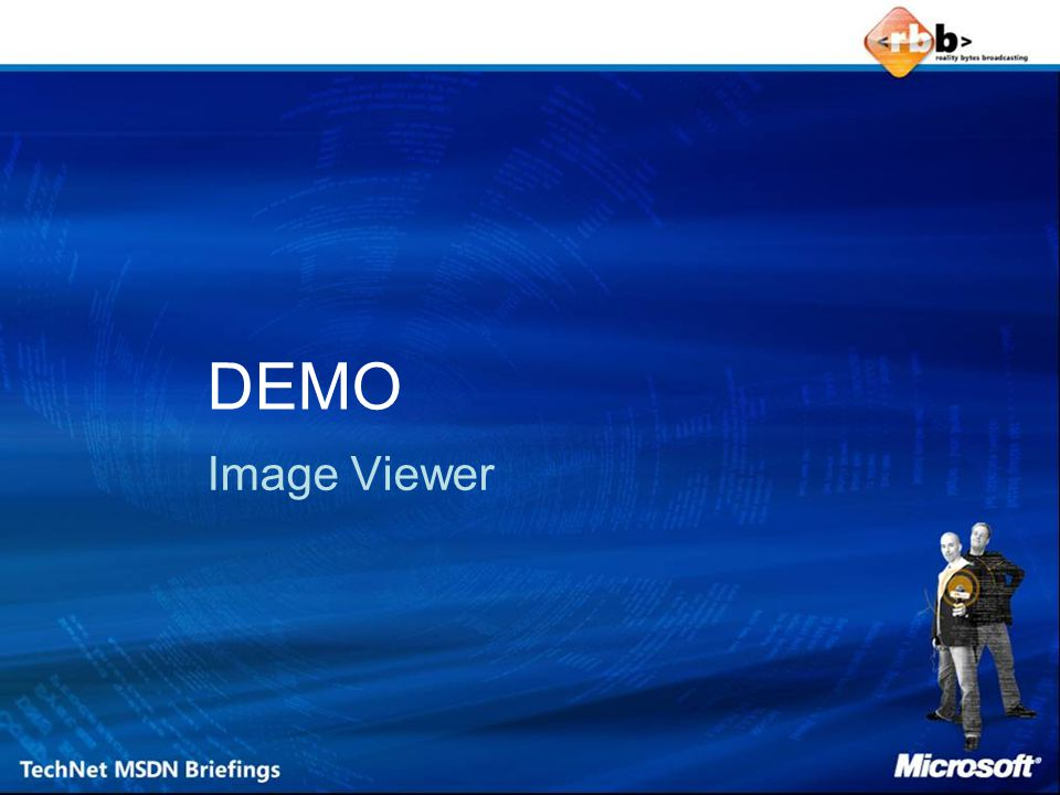 DEMO Image Viewer