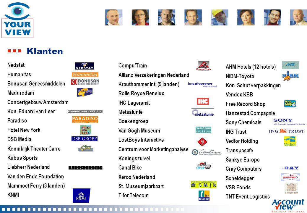 Technologie Ontwikkeld in Microsoft Visual Foxpro Embedded VFP database Volledige COM ondersteuning Door partners en eindgebruikers uitbreidbaar en aanpasbaar met eigen velden, businessrules, schermen etc, Volledige XML ondersteuning Intern en extern Partners kunnen eigen XML berichten toevoegen XML Web Service (provider) ontwikkeld in Visual Studio.NET Door partners uitbreidbaar met eigen Webmethods Veel koppelingen met MS-Office Draaitabellen, mailmerge, outlook koppelingen etc.