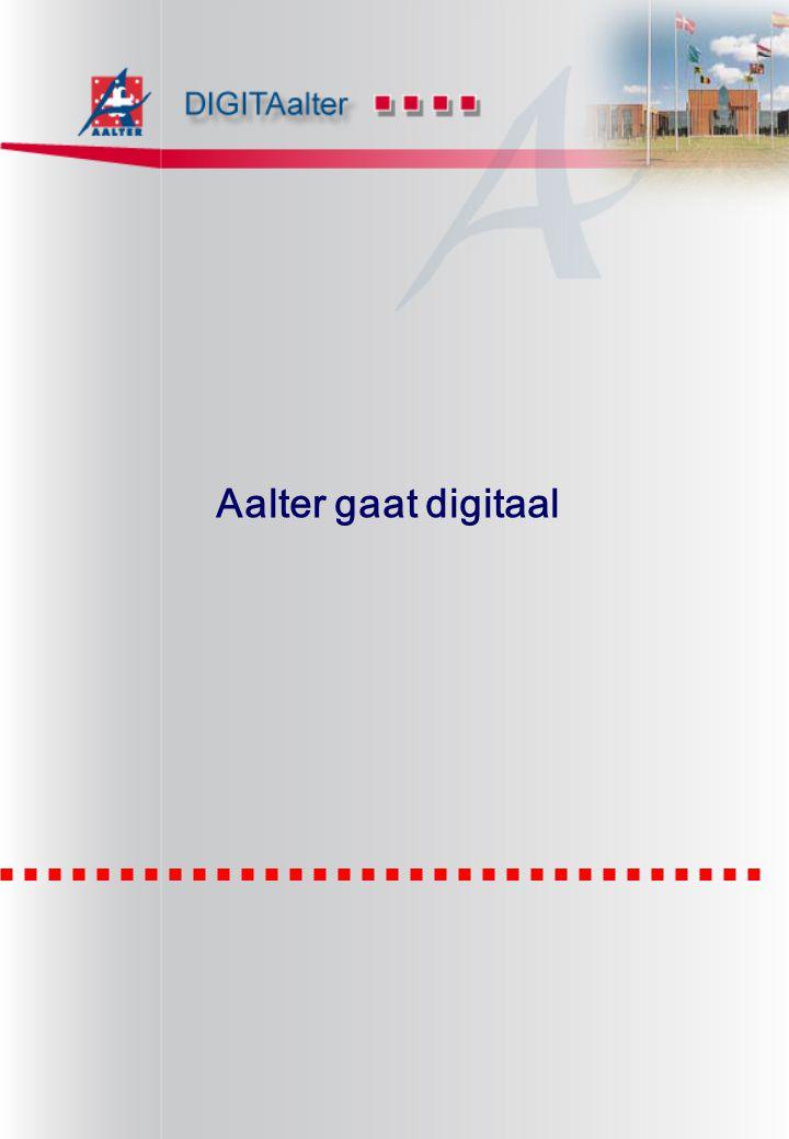 Certificaat van Goedkeuring Uitgereikt aan Gemeentebestuur Aalter Europlaan 22 - 9880 Aalter België ------------------------------------------------------------------------------- Bureau Veritas Quality International verklaart dat het kwaliteitsmanagementsysteem van bovengenoemde organisatie beoordeeld en in overeenstemming bevonden werd met de eisen van de kwaliteitsnormen zoals hieronder vermeld: ------------------------------KWALITEITSNORMEN--------------------------- NBN EN ISO 9001:2000 ------------------------------TOEPASSINGSGEBIED------------------------- is van toepassing op volgende domeinen: Het systeem heeft betrekking op: 1 juli 2003 Behoudens de voortdurende en bevredigende werking van het kwaliteitsmanagementsysteem van de organisatie is dit certificaat geldig voor een periode van drie jaar.