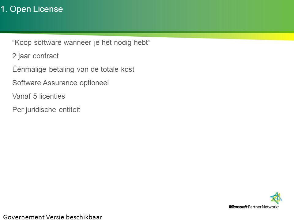 Resources Volume Licensing Briefs: www.microsoft.com/licensing/about-licensing/volume-licensing-briefs.aspx Software Assurance Benefits – How to Activate www.microsoft.com/licensing/software-assurance/default.aspx#tab=3 Volume License Activation – MAK/KMS Keys http://technet.microsoft.com/nl-be/windows/dd197314(en-us).aspx Microsoft Online Services http://www.microsoft.com/online/nl-be/default.mspx http://www.microsoft.com/online/fr-be/default.mspx VLSC – Volume License Service Center Manual www.microsoft.com/downloads/details.aspx?displaylang=en&FamilyID=d75e4c02-e38c-4a22-b7f7-69f9706c5240 CAL Suites: Core CAL & Enterprise CAL Suite www.microsoft.com/calsuites/en/us/default.aspx Office 2010 www.microsoft.com/office2010 SQL Server 2008 Licensing Guide http://download.microsoft.com/download/6/F/8/6F84A9FE-1E5C-44CC-87BB-C236BFCBA4DF/SQLServer2008_LicensingGuide.pdf