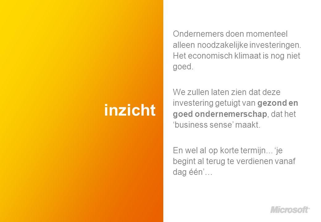 inzicht Ondernemers doen momenteel alleen noodzakelijke investeringen.