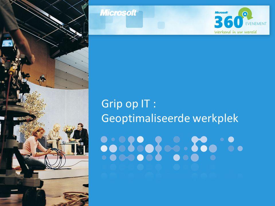 Grip op IT : Geoptimaliseerde werkplek