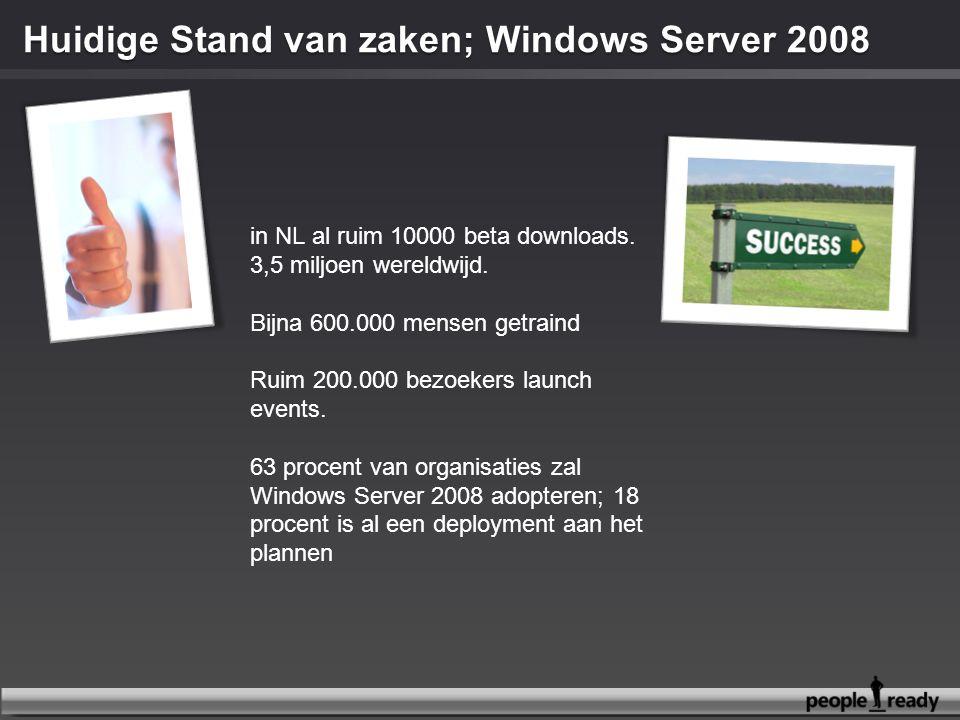 in NL al ruim 10000 beta downloads. 3,5 miljoen wereldwijd. Bijna 600.000 mensen getraind Ruim 200.000 bezoekers launch events. 63 procent van organis
