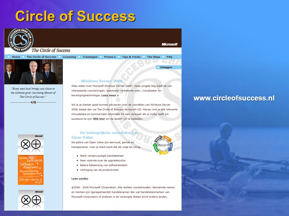 Circle of Success www.circleofsuccess.nl