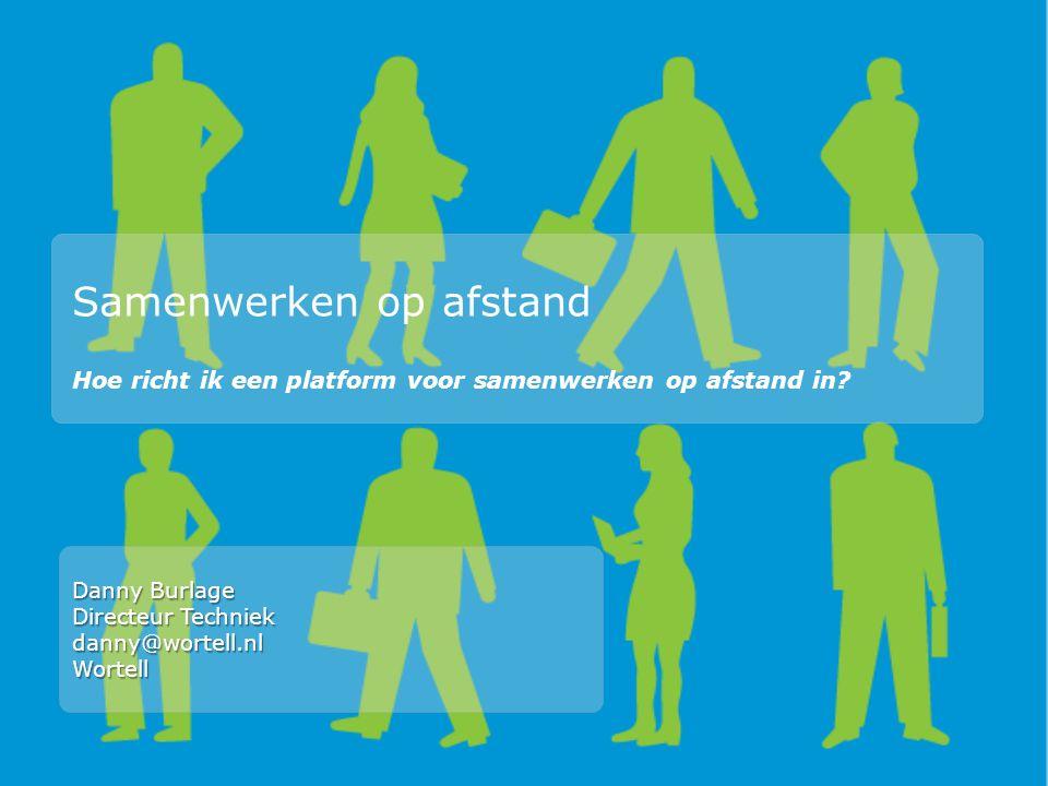Samenwerken op afstand Hoe richt ik een platform voor samenwerken op afstand in.