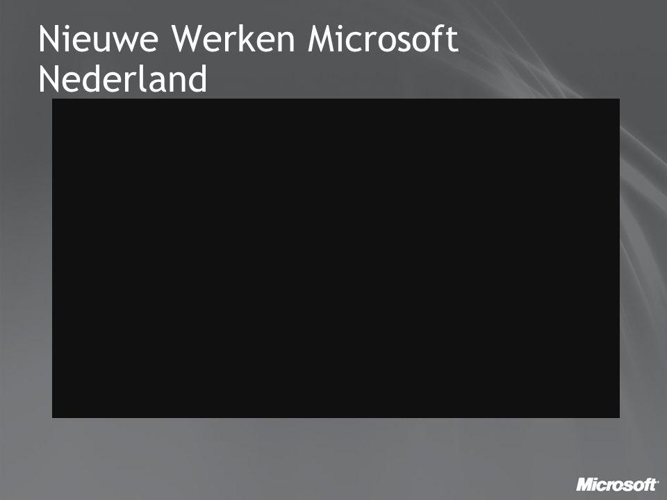Nieuwe Werken Microsoft Nederland