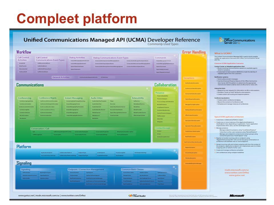 Compleet platform
