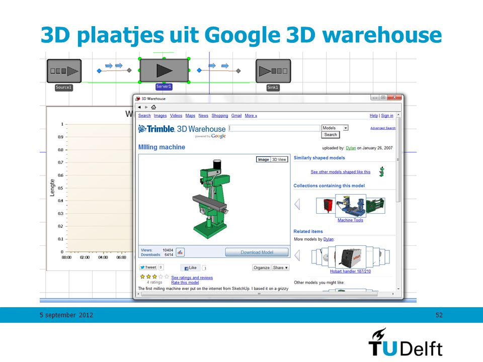 5 september 201252 3D plaatjes uit Google 3D warehouse