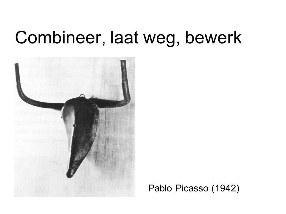 Combineer, laat weg, bewerk Pablo Picasso (1942)