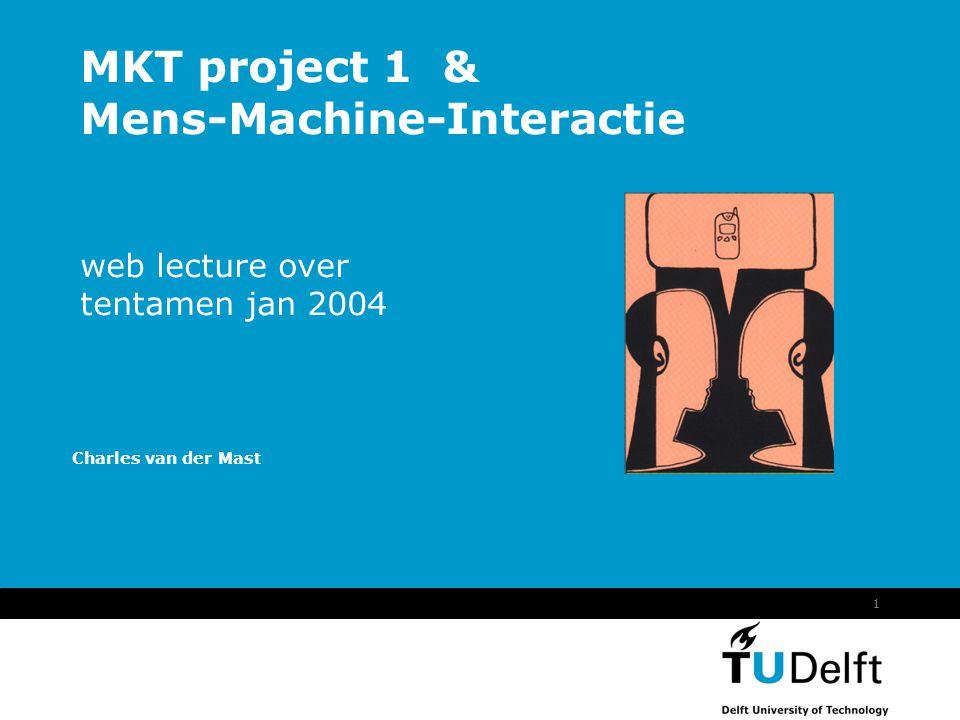 Bespreking Tentamen januari 2004 -- Web Lecture12 11.