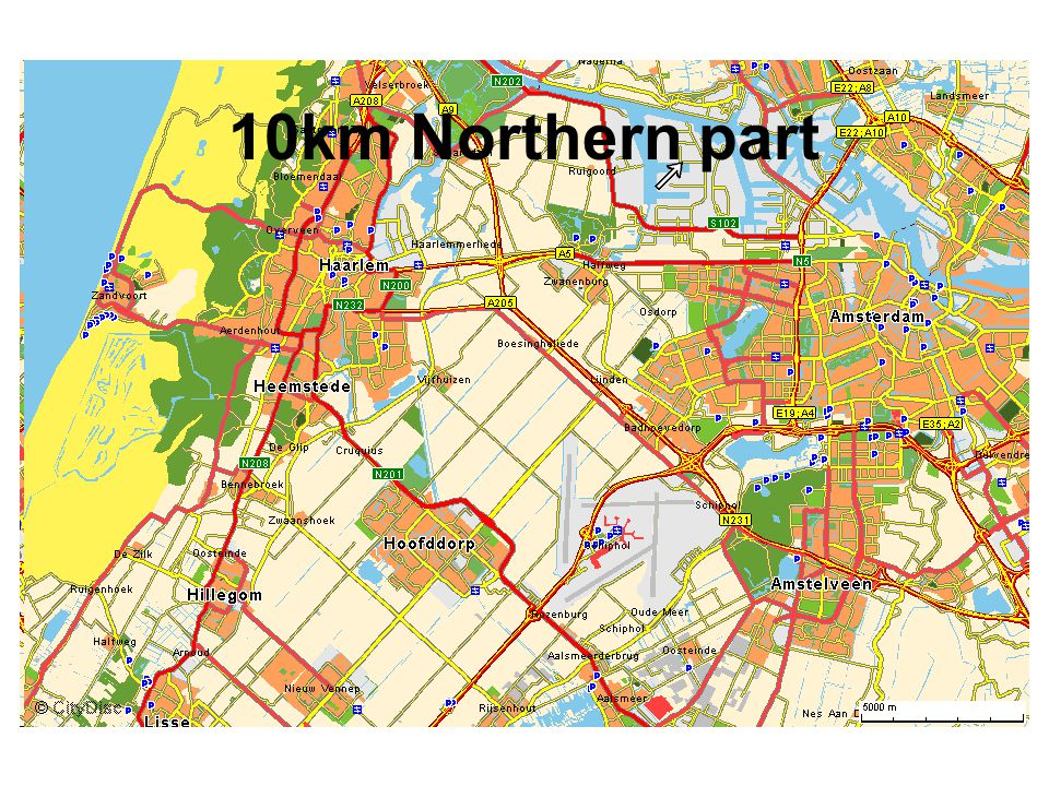 10km Northern part
