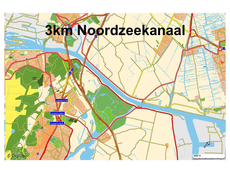 3km Noordzeekanaal