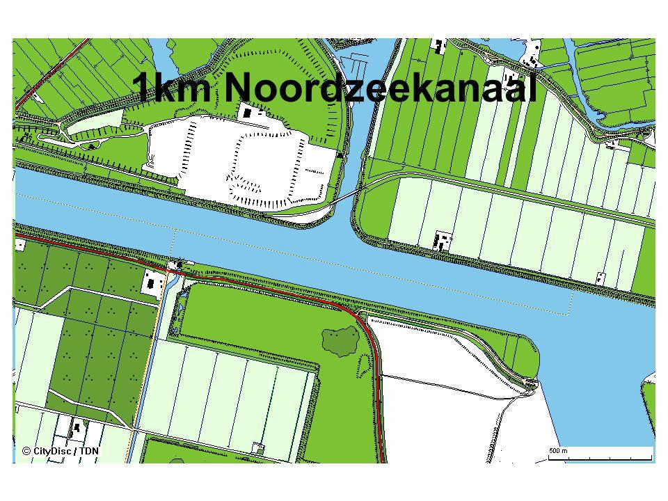 1km Noordzeekanaal