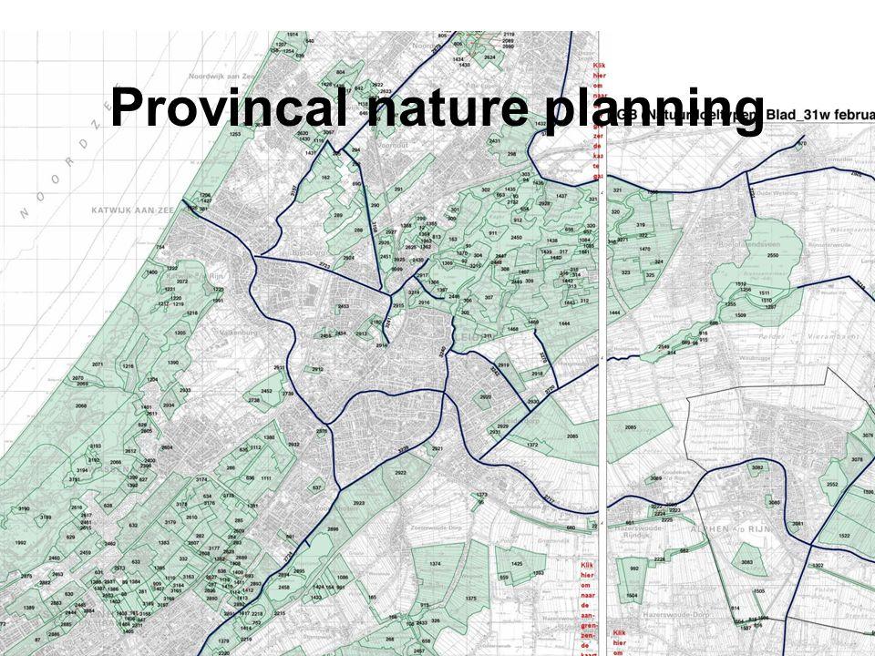 Provincal nature planning