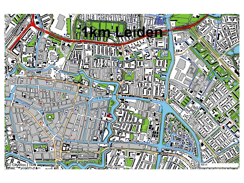 1km Leiden