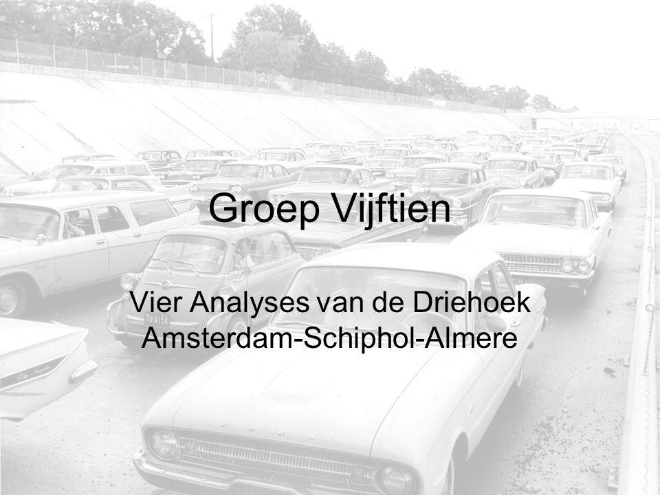 Groep Vijftien Vier Analyses van de Driehoek Amsterdam-Schiphol-Almere