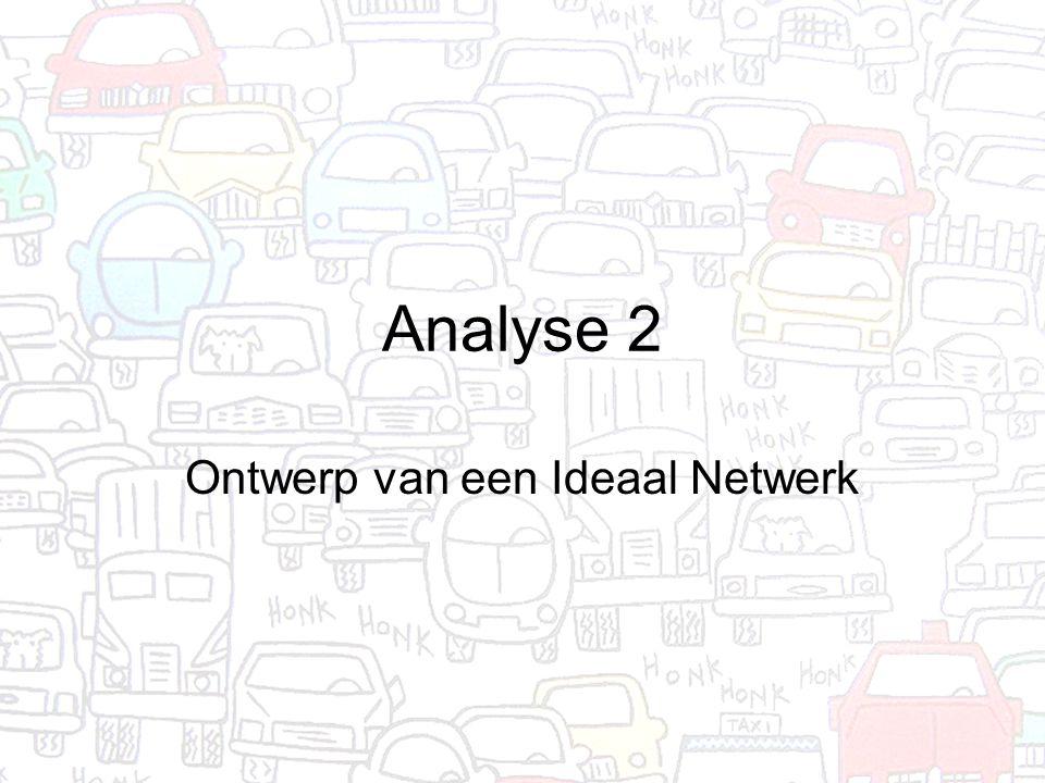 Analyse 2 Ontwerp van een Ideaal Netwerk