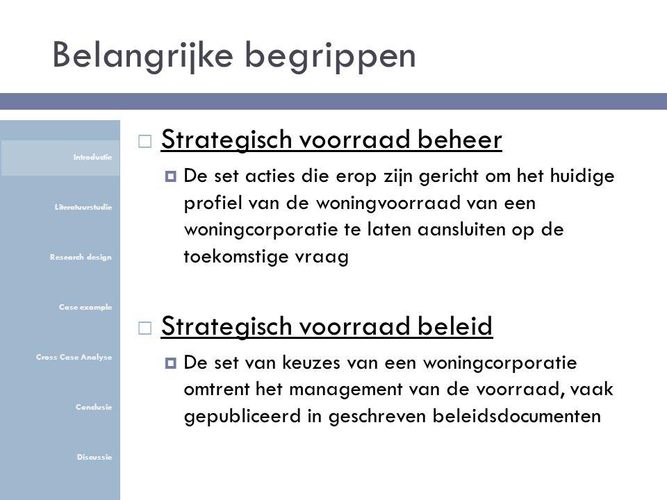 Verkoopdoelstellingen (stap 4 & 5)  De volgende IPQ's heeft Waterweg Wonen bewust ingezet Introductie Literatuurstudie Research design Case example Cross Case Analyse Conclusie Discussie