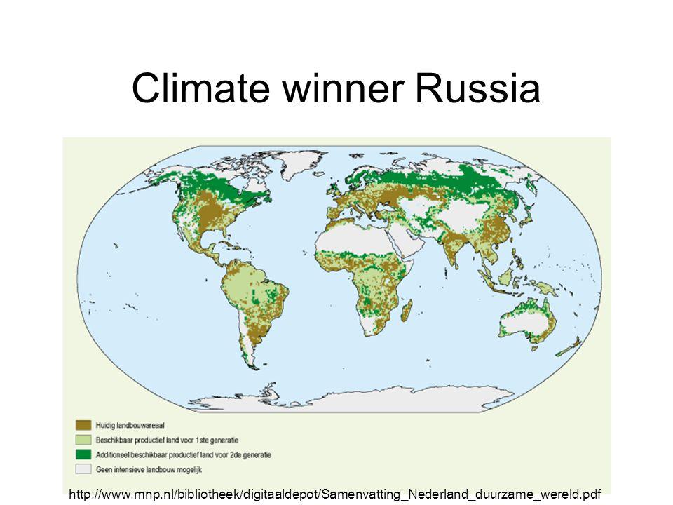 Climate winner Russia http://www.mnp.nl/bibliotheek/digitaaldepot/Samenvatting_Nederland_duurzame_wereld.pdf