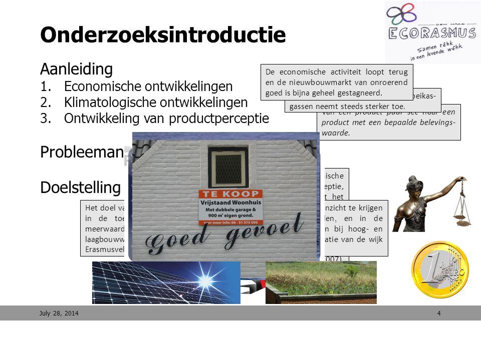 15 Financiële haalbaarheid duurzaam Erasmusveld (4/4) – resultaten Decentrale duurzame energievoorzieningen Erasmusveld July 28, 2014 Conclusie cashflow berekeningen (Looptijd 20 jaar) NCW windmolens Alternatief 1: € 1.298.320 Alternatief 2: € 691.498 Alternatief 3: € 152.842 NCW Zon-PV panelen Alternatief 1: € -148.917 Alternatief 2: € -153.636 Alternatief 3: € -157.820 Conclusie cashflow berekeningen (Looptijd 20 jaar) NCW windmolens Alternatief 1: € 1.298.320 Alternatief 2: € 691.498 Alternatief 3: € 152.842 NCW Zon-PV panelen Alternatief 1: € -148.917 Alternatief 2: € -153.636 Alternatief 3: € -157.820 NCW biovergister Alternatief 1: € 458.006 Alternatief 2: € 428.221 Alternatief 3: € 386.373 NCW duurzame energiemaatschappij Alternatief 1: € 1.607.409 Alternatief 2: € 966.083 Alternatief 3: € 381.396 NCW biovergister Alternatief 1: € 458.006 Alternatief 2: € 428.221 Alternatief 3: € 386.373 NCW duurzame energiemaatschappij Alternatief 1: € 1.607.409 Alternatief 2: € 966.083 Alternatief 3: € 381.396 Het is volgens Kunst (2010) een politieke keuze hoe men omgaat met decentrale groene energievoor- zieningen.