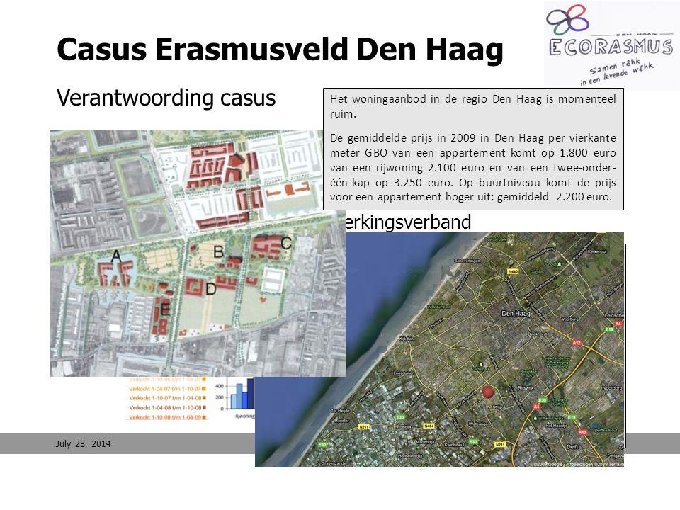 9 Casus Erasmusveld Den Haag Verantwoording casus Erasmusveld 1.Kenmerken 2.Programma 3.Eigendomssituatie en samenwerkingsverband Regionale marktverke