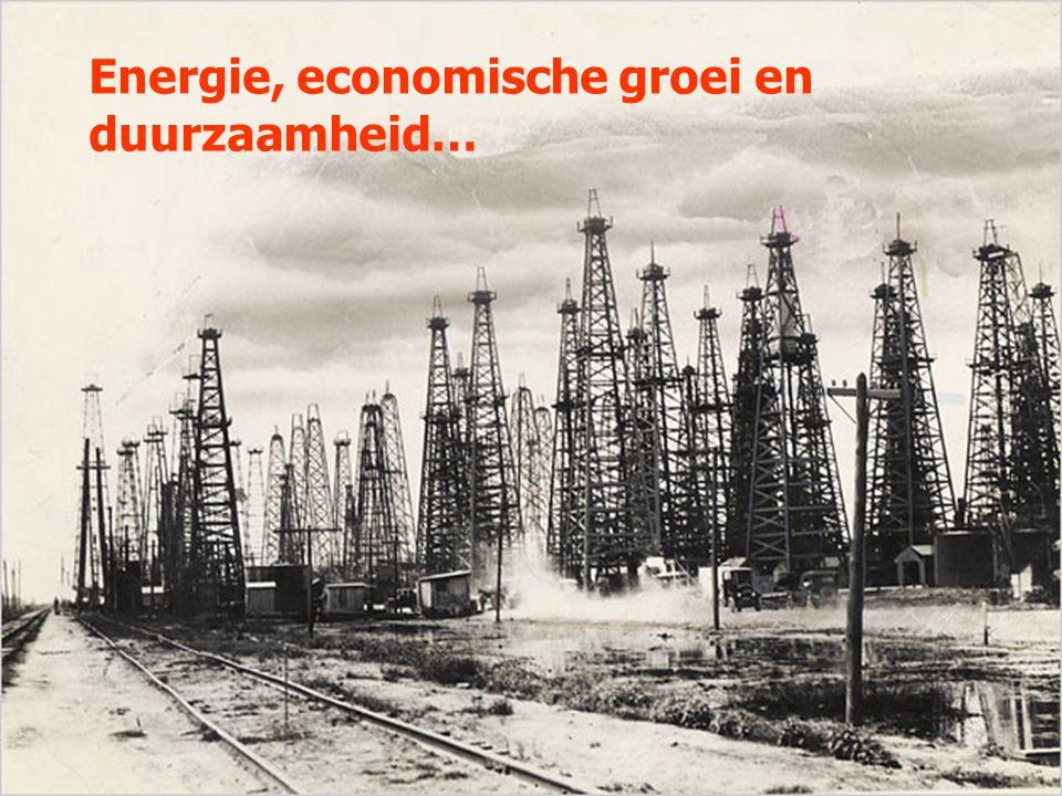 Energie, economische groei en duurzaamheid…