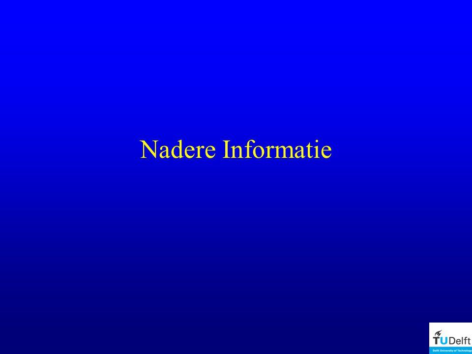 Nadere Informatie