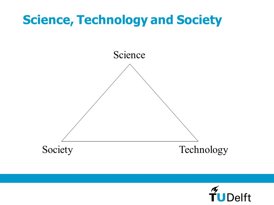 Science, Technology and Society Science SocietyTechnology
