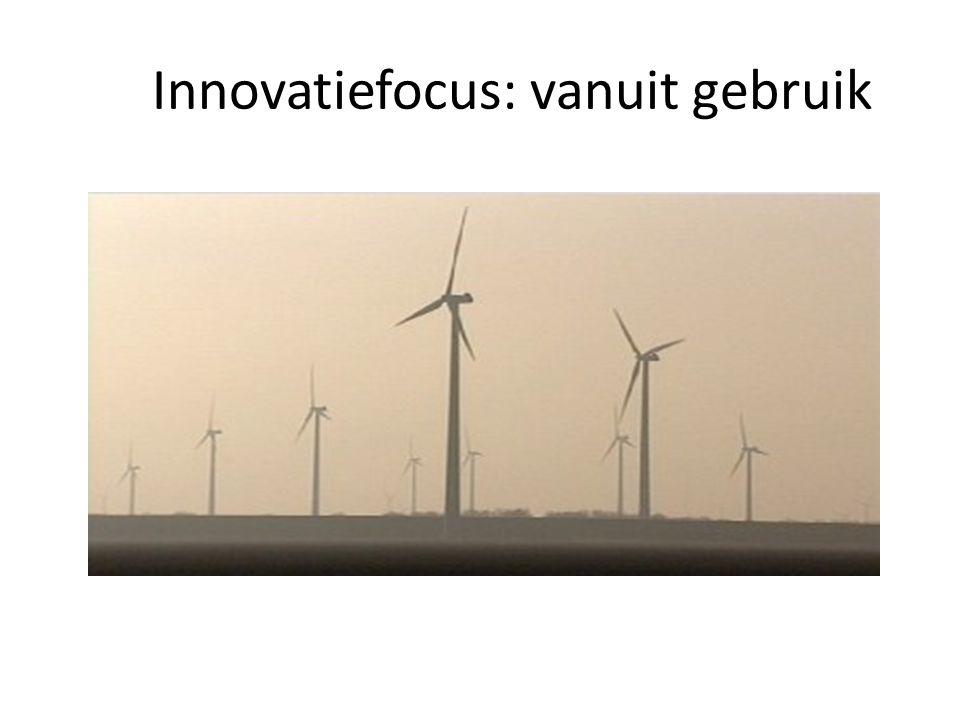 Innovatiefocus: vanuit gebruik