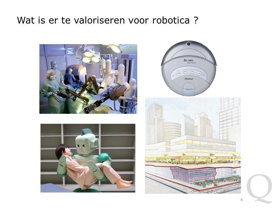 Q Wat is er te valoriseren voor robotica 4
