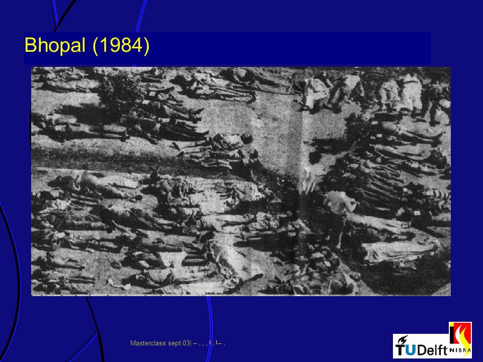 Masterclass sept 03|      Bhopal (1984)