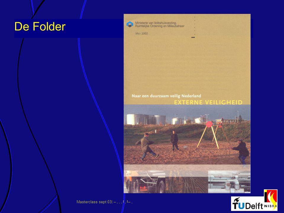 Masterclass sept 03|      De Folder