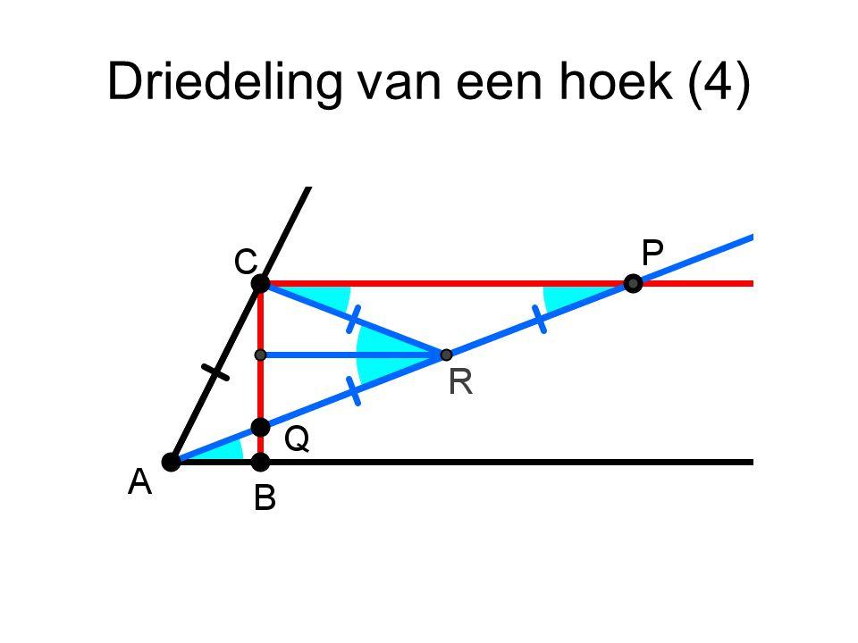 Driedeling van een hoek (4)